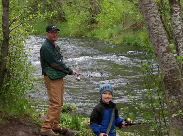Fishing boating for Hat creek fishing
