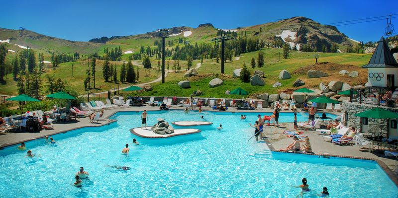 Mountain magic truckee to yosemite valley - High camp swimming pool squaw valley ...