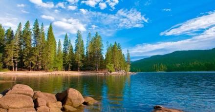 Bass Lake at Yosemite RV Resort