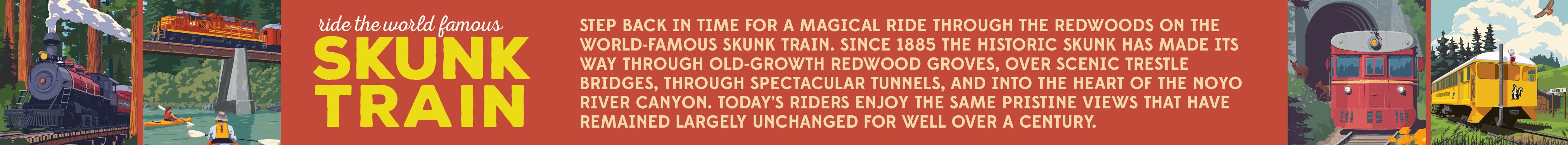 Skunk Train 2021 Banner