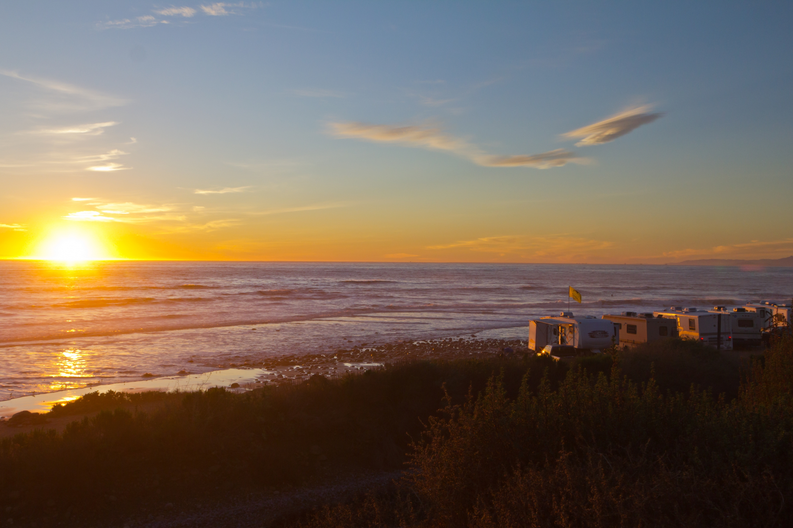 4 Types of Beach Camping in California